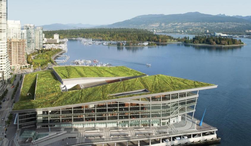 Centrul de Conventii din Vancouver, Canada
