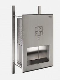 Lavoar multifunctional din otel inox cu buton piezo - SANELA SLUN 70H