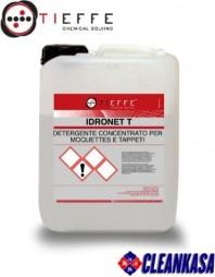Detergent profesional pentru spalat mochete si tapiterii, concentrat, prin injectie extractie - TIEFFE IDRONET T