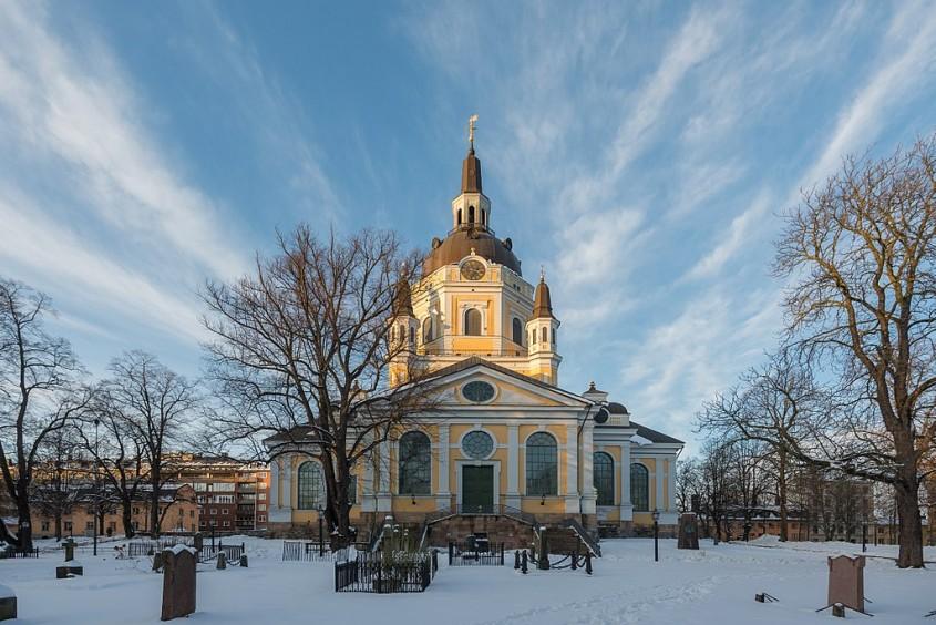 Biserica Sfanta Ecaterina din Stockholm, Suedia