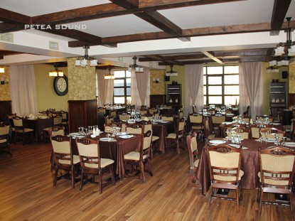 Interiorul Restaurantului Millenium  Galati PETEA Sound
