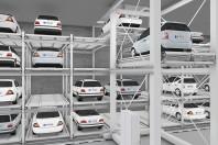 Sistem de parcare automat tip raft - MasterVario R3