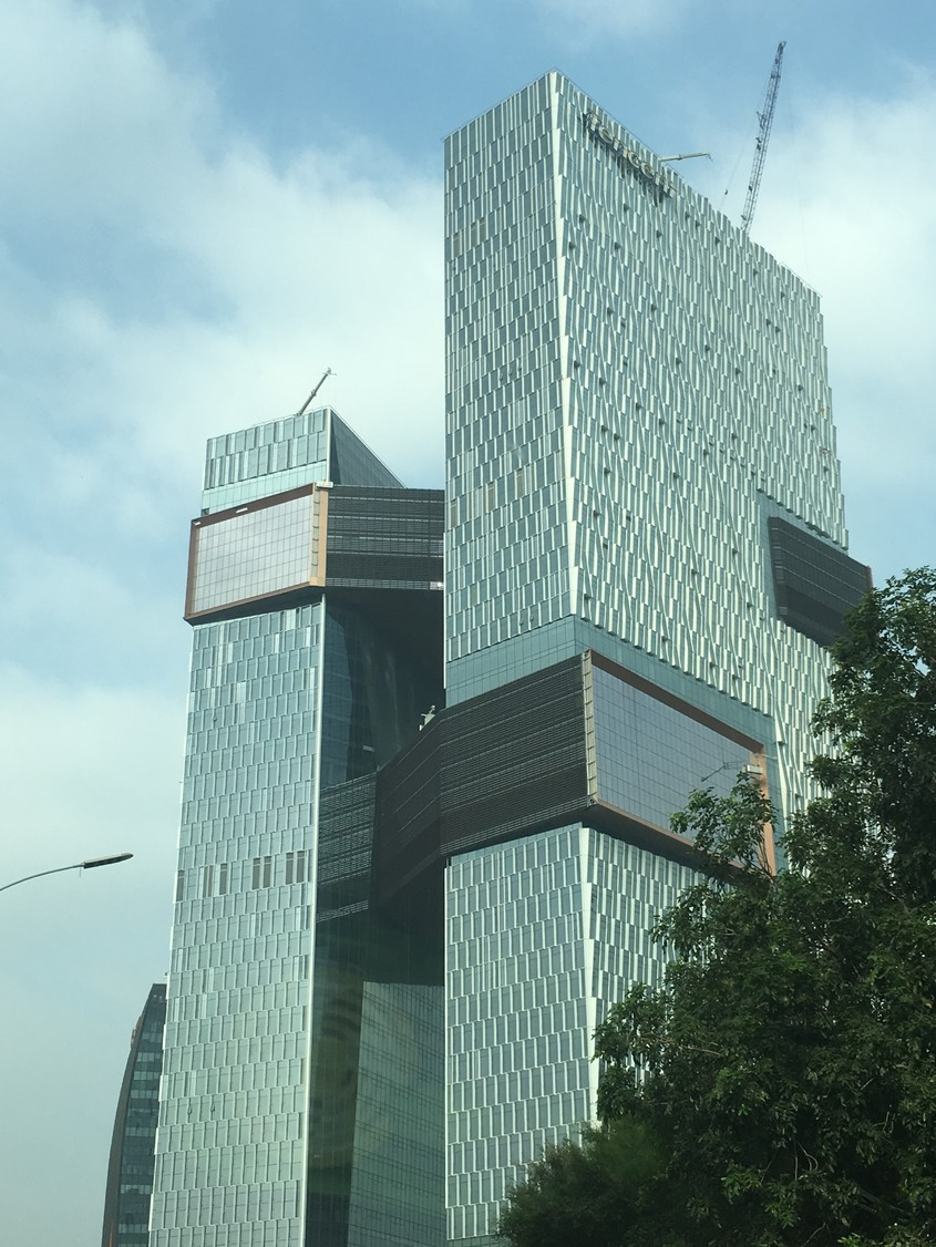 Turnurile Tencent Binhai, Shenzhen - NBBJ