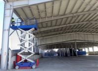 Plase de protectie textile pentru constructii - hale depozite soproane statii de reciclarea deseurilor gropi de
