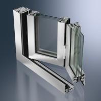 Profil glisant-pliant din aluminiu - Schüco ASS 80 FD.HI