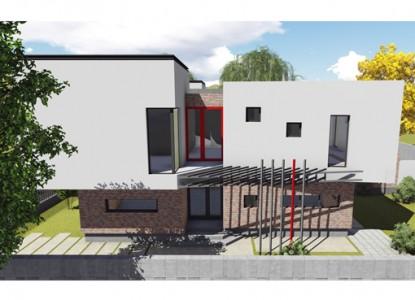 Locuinta cuplata P+E - Sistem terasa - Bucuresti Nord  Bucuresti AsiCarhitectura