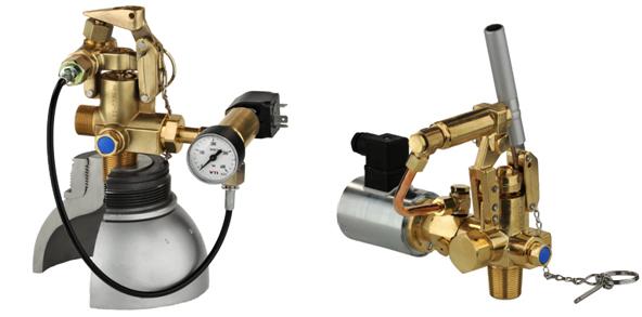 Sistem de stingere a incendiilor cu  gaze inerte (INERGEN) - modul de funcționare