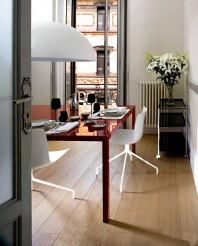 Parchet triplustratificat - Stejar Nouveau White