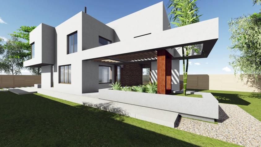 Vila unifamiliala Sp+P+E - Bragadiru 18.10  Bragadiru AsiCarhitectura