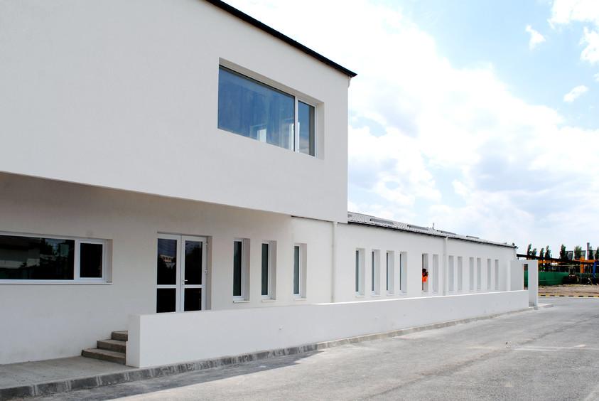 Vestiare pentru angajatii fabricii de pulberi metalice - Buzau 01.4  Buzau AsiCarhitectura