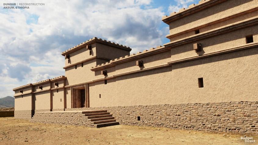 Palatul Dungur, Etiopia