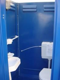 Toaleta ecologica cu vas, racordabila, chesonata (gen englezeasca) - New Design Composite