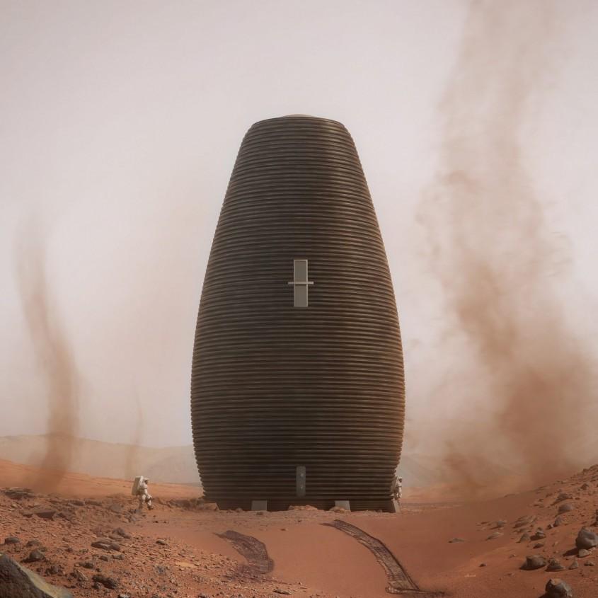 Într-o zi vom locui pe Marte în una dintre aceste cinci case aprobate de NASA