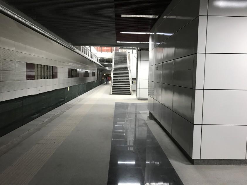 Amenajarea statiilor de metrou de pe magistrala M5 - proiect MARMODAV SELECT  Bucuresti MARMODAV SELECT