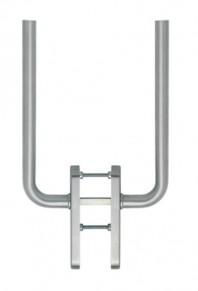 Manere pentru usa glisanta cu ridicare din otel inox Bonn HS-E050