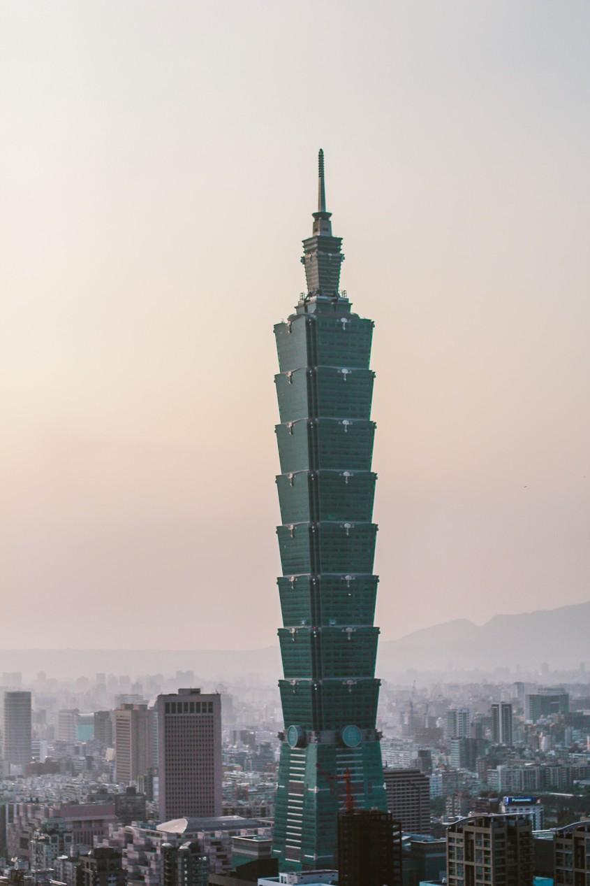 TAIPEI 101, Taipei, 2004