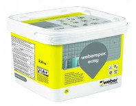 Chit epoxidic bicomponent pentru interior si exterior - weberepox easy