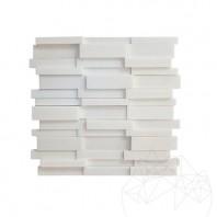 Mozaic Marmura Thassos 3D Lines Polisata MPN-2038