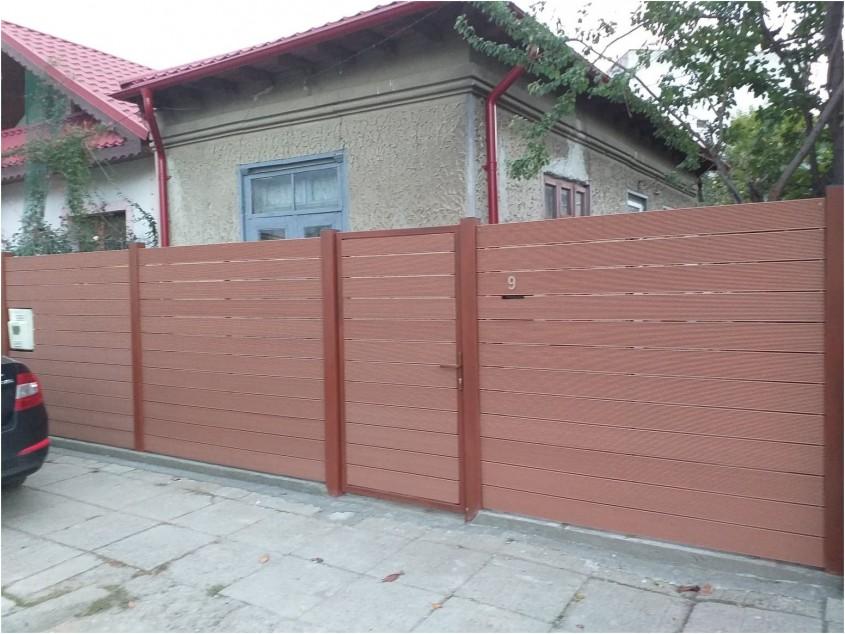 Gard si poarta din profile WPC Bencomp