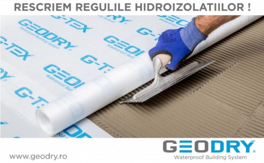 Membrană hidroizolantă pentru impermeabilizare cabine de duş, băi, balcoane, zone wellness