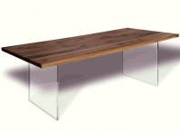 Masa Oak Glass
