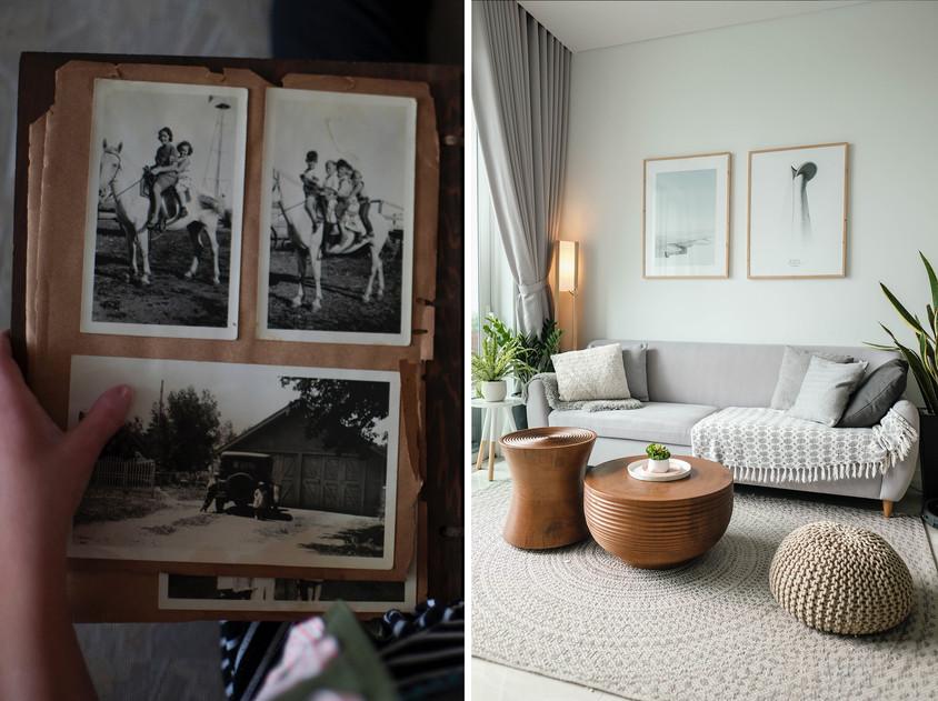 O altfel de călătorie - redecorarea casei cu amintiri
