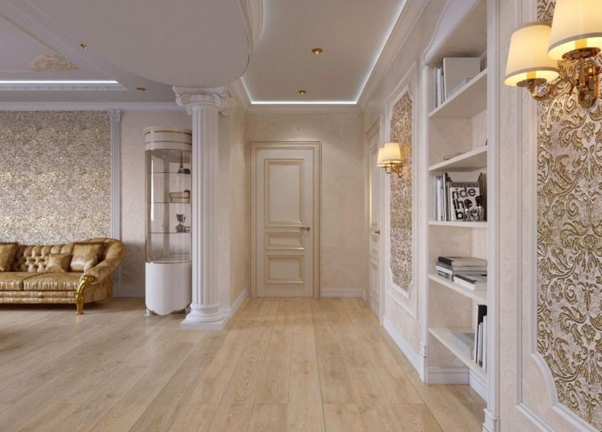 Cum alegi tapetul pentru un design în stil clasic?