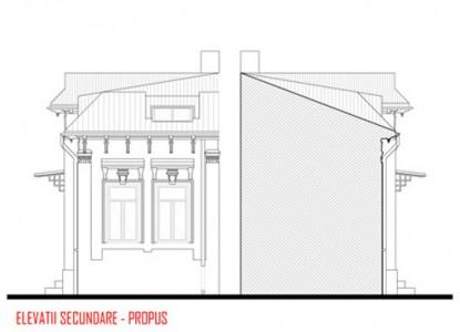 Remodelare mansarda locuinta existenta - str Ioan Bianu 10.6  Bucuresti AsiCarhitectura