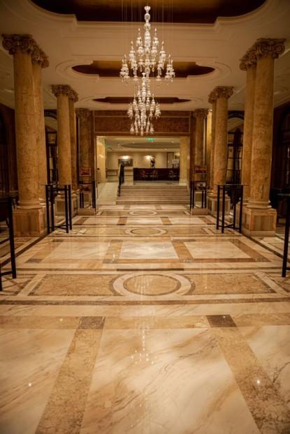 Proiect BrownSTONE - Slefuire marmura - Hotel Athénée Palace Hilton  Bucuresti BROWNSTONE
