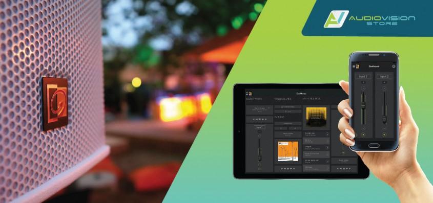 """<p style=""""text-align: left;"""">Se poate astfel controla volumul, sursa de muzică și se pot face setări diferite pe zone specifice - recepție, lobby, club, piscină, restaurant, sala de conferințe - având control independent din (touch) panel, și/sau din aplicații instalate pe dispozitive mobile. </p><p style=""""text-align: left;""""><br /></p><p style=""""text-align: left;""""><span style=""""font-size: large;"""" _mce_style=""""font-size: large;"""">  Integrează estetic și funcțional sistemul de sonorizare, în funcție de specificul fiecărei zone</span> </p><p style=""""text-align: left;""""><br /></p><p style=""""text-align: left;""""> Integrarea estetică a echipamentelor audio la interiorul hotelului tău, poate fi extinsă și în aer liber, cu difuzoare rezistente la intemperii, integrate optim în decor.   Din punct de vedere funcțional, se pot realiza integrări speciale în sălile de conferință și integrări cu sistemul de efracție și evacuare.  În cazul în care optezi pentru compartimentarea sălii de conferință cu pereți mobili, există posibilitatea de sonorizare ca un tot unitar sau divizat.</p>"""