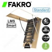 Scara metalica pentru acces in pod - FAKRO LMS