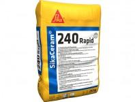 Sika Ceram® 240 Rapid - Adeziv pentru lipirea placilor ceramice cu priza rapida monocomponent pe baza