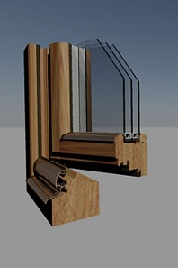 Fereastra din lemn - TIPUL CONFORT