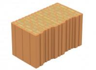 Bloc ceramic portant, cu izolatie din vata bazaltica integrata -  EVOCERAMIC 44 VB