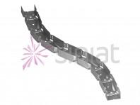 Siniat profil vertebra NIDA Metal GV50