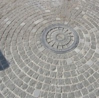 Piatra Cubica Granit Gri Antracit Natur 10 x 10 x 5 cm - PC-3266