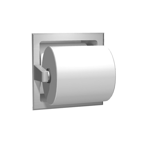 Dispenser incastrat de hartie igienica cu rola de rezerva - 7403