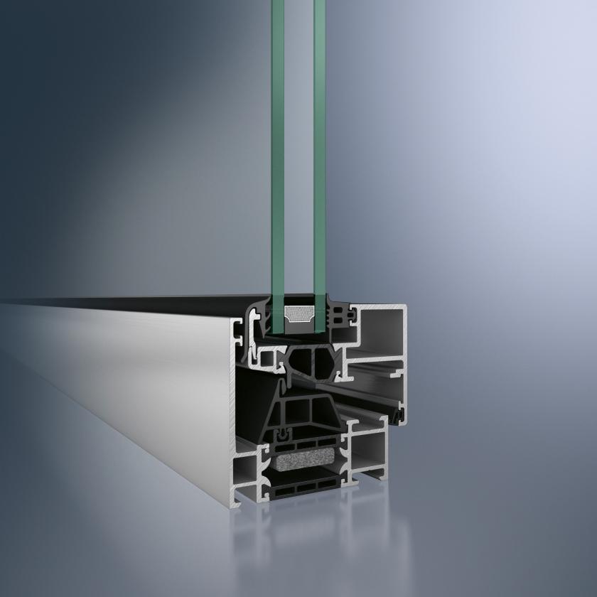 Profil din aluminiu pentru fereastra - Schüco AWS 70 BS.HI