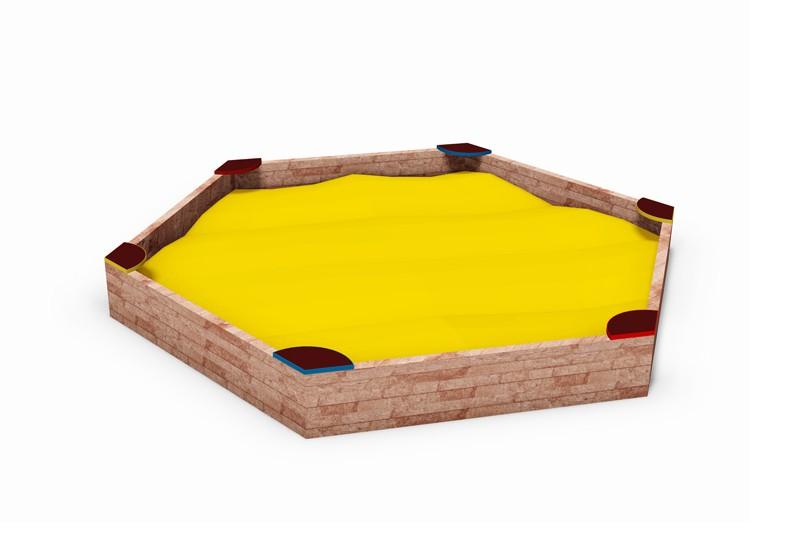Nisipar hexagonal pentru locuri de joaca - HO-2311