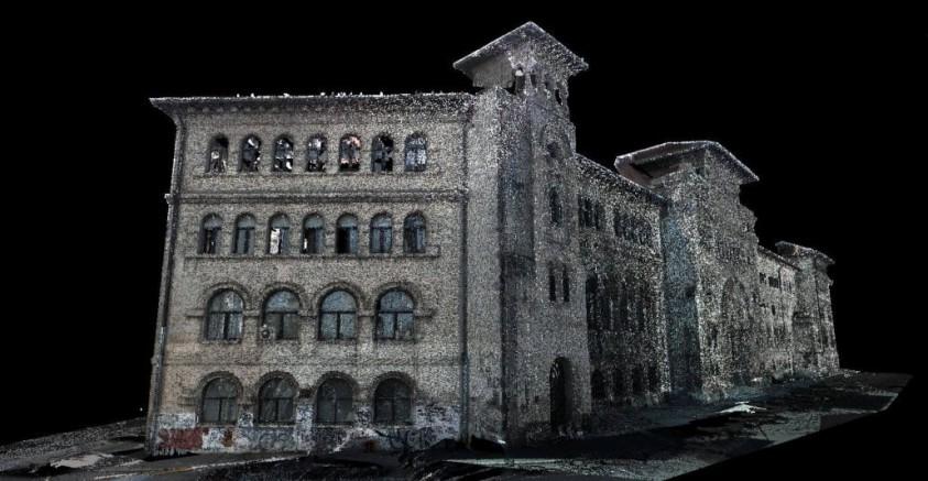 Graphein-scanare 3D - Universitatea de Arhitectura Ion Mincu  Bucuresti GRAPHEIN GRAPHEIN