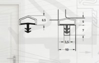 Garnitura pentru usi de interior - Art. M7292/10