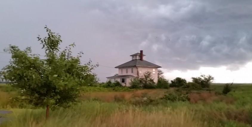 Casa roz de pe Insula Plum (Newbury, Massachusetts)