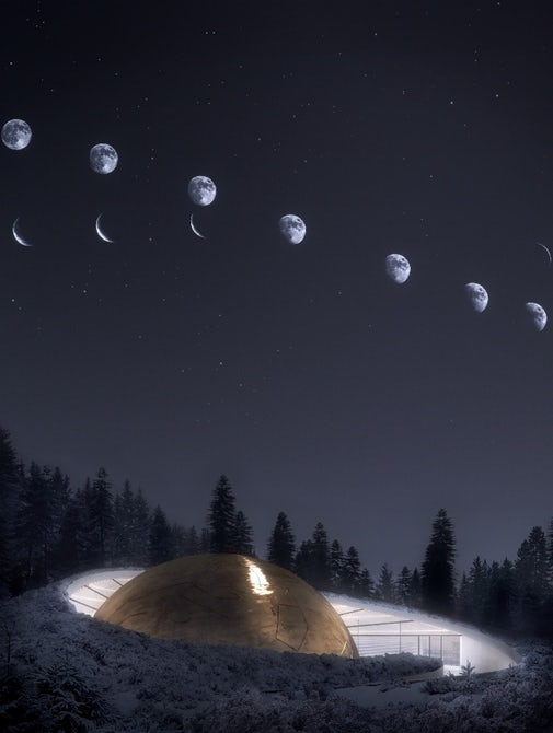 Refugiu printre stele: Acest planetariu va fi construit într-o pădure norvegiana