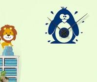 "Sticker tip ceas de perete ""Pinguin"""