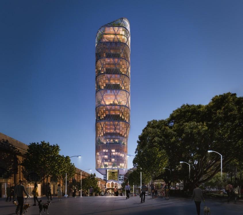 Cum arată cea mai înaltă clădire din lume construită preponderent din lemn