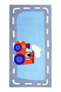 Covor Copii Acril Sigikid Colectia Happy Street Traffic Sk-3346-01-S