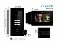 Kit video SMART + 7'', panou incastrat -  VKM.P3FR.T7S4.ELB04