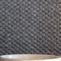Mozaic Marmura Black Oval Scapitata 1.8 x 5 cm MPN-4683