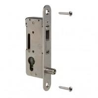 Incuietoare incastrabila fara maner pentru porti metalice - H-COMPACT