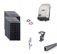Sistem fotovoltaic on-grid Fronius 4kwp prindere tabla